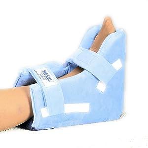 Skil-Care Heel Float -Heel Protector Pressure Relieving Pillow Boot, Medium, 4 Inch Wide