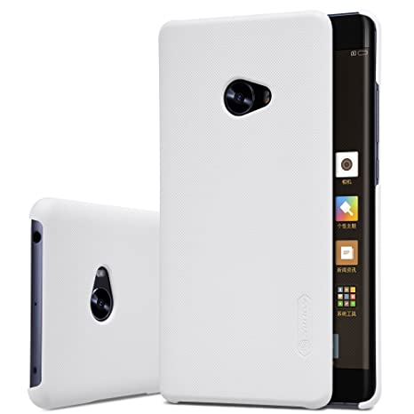 Meimeiwu Frosted Shield - Hard Cover Carcasa trasera protectora y antideslizante + film de pantalla para XiaoMi Note 2 - Blanco