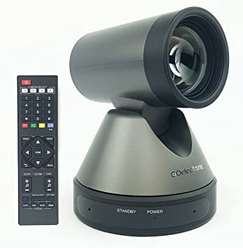 USB 3.0 HD PTZ Streaming Conference Camera - Full 1080p High Definition Video with 12x Optical Zoom and Built in Audio Microphone GOHD20U by GO Electronic