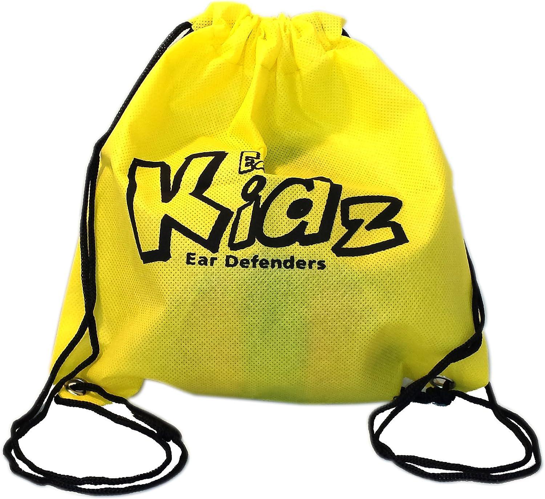 Edz Kidz rosa EDZ Kidz Bolsa de almacenamiento para la protecci/ón auditiva del ni/ño