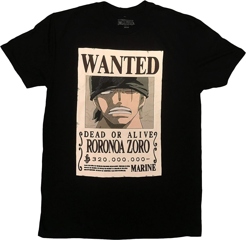 Amazon.com: Roronoa Zoro Bounty - Camiseta de manga corta ...