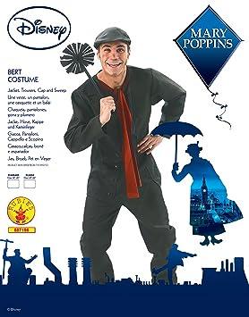 Rubies s – Disfraz de Disney Mary Poppins, Bert de la oficial adulto – XL