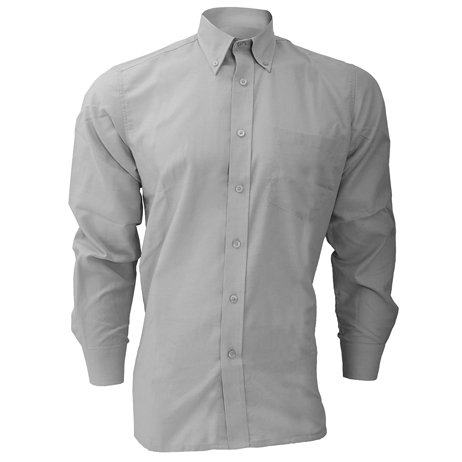 Dickies Long Sleeve Cotton//Polyester Oxford Shirt//Mens Shirts