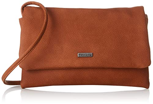 Tamaris Damen Louise Crossbody Bag S Umhängetasche, Braun
