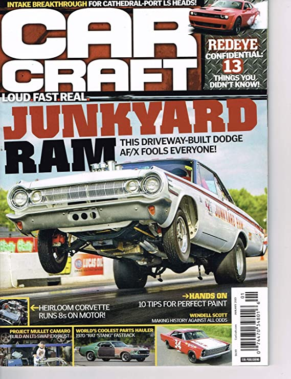 Amazon com : Car Craft January 2019 Junkyard Ram - This Driveway