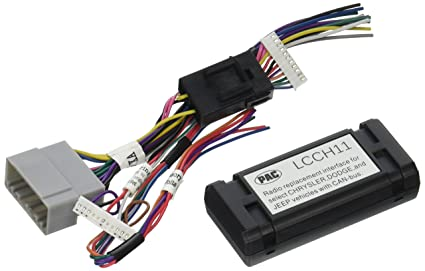 Amazon.com: PAC LCCH11 Radio Replacement Adapter For Chrysler ... on jeep engine harness, jeep tach, jeep wiring connectors, jeep key switch, jeep relay wiring, jeep gas sending unit, jeep knock sensor, jeep seat belt harness, jeep wiring diagram, jeep exhaust leak, jeep wire connectors, jeep electrical harness, jeep condensor, jeep carrier bearing, jeep vacuum advance, jeep sport emblem, jeep intake gasket, jeep exhaust gasket, jeep bracket, jeep visor clip,