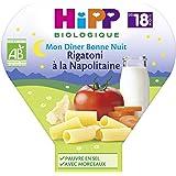 Hipp Biologique Mon Dîner Bonne Nuit Rigatoni à la Napolitaine dès 18 mois - 6 assiettes de 260 g