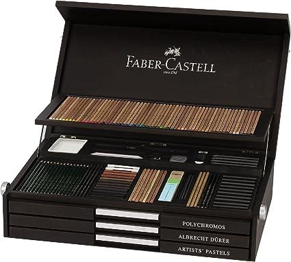 Estuche de madera de colección por aniversario de los 250 años de Faber Castell: Amazon.es: Oficina y papelería