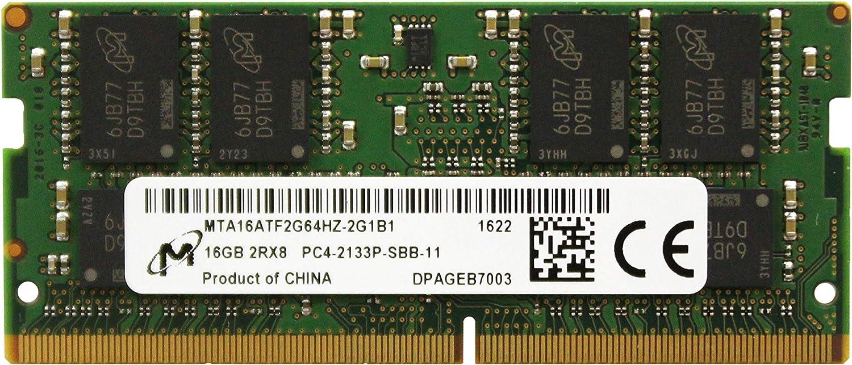 Precision Inspiron Adamanta 16GB Latitude XPS SNP47J5JC//16G A8650534 DDR4 2133Mhz PC4-17000 SODIMM 2Rx8 CL15 1.2v RAM DRAM Laptop Memory Upgrade Compatible for Dell Alienware 1x16GB