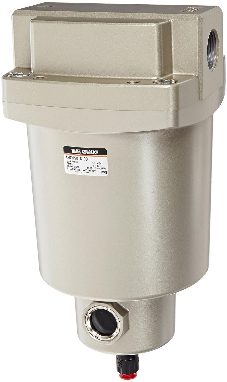 SMC AMG650-N10D Water Separator, N.O. Auto Drain, 6,000 L/min, 1 NPT by SMC Corporation  B009VQ0XS8