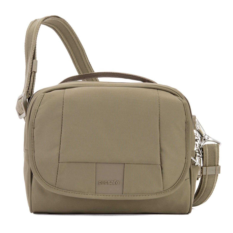 Amazon.com  Pacsafe Metrosafe Ls140 Anti-Theft Compact Shoulder Bag ... 40b56d56d54ee