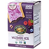 Nature's Path Organic Toaster Pastries, Frosted Wildberry Acai, 6 Count