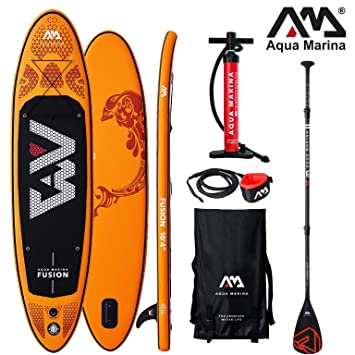 Aqua Marina Fusion 2019 Sup Board Hinchable Stand Up Paddle ...