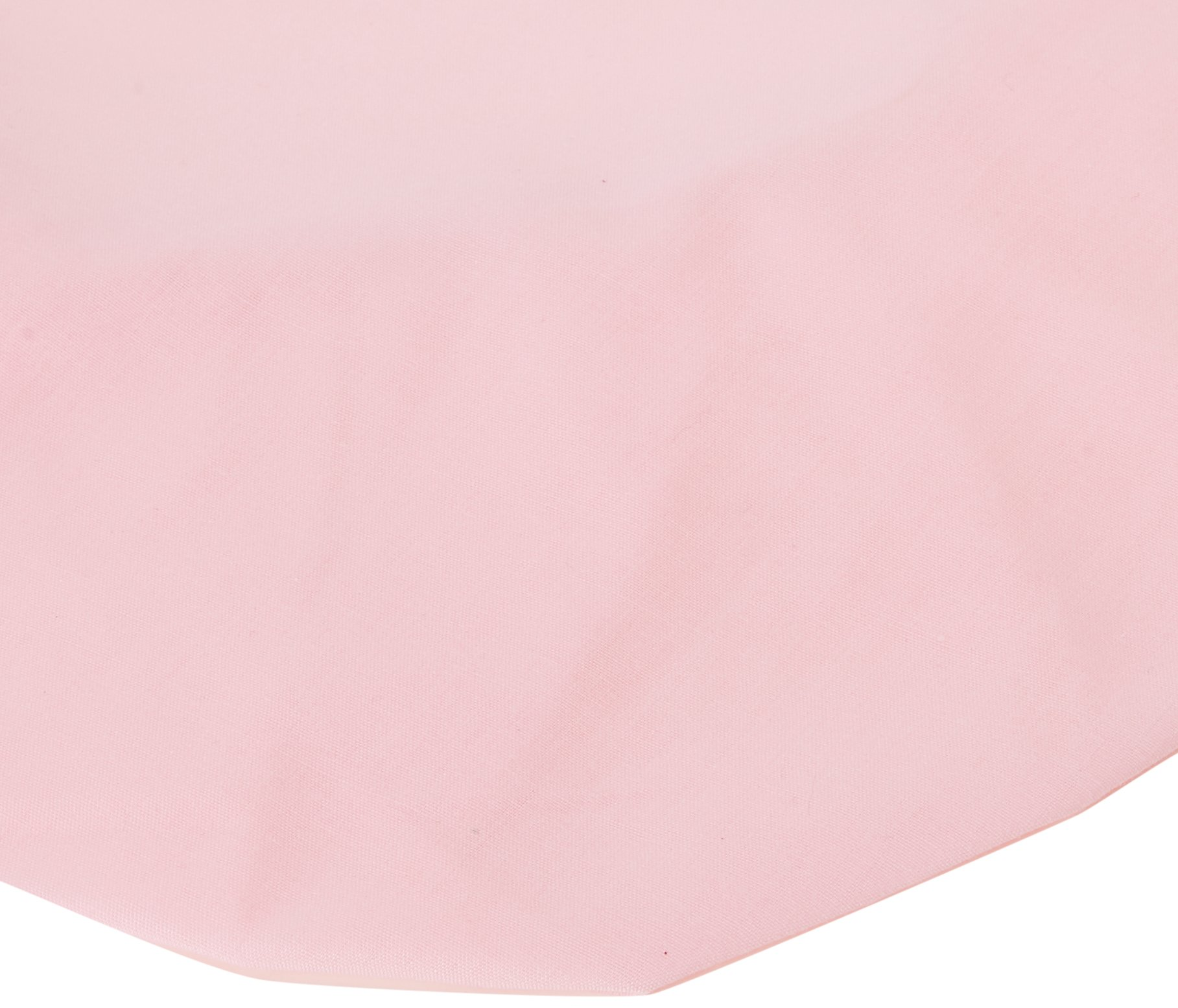 Babydoll Bedding Poly Cotton Bassinet Sheet, Pink, 13'' x 29''