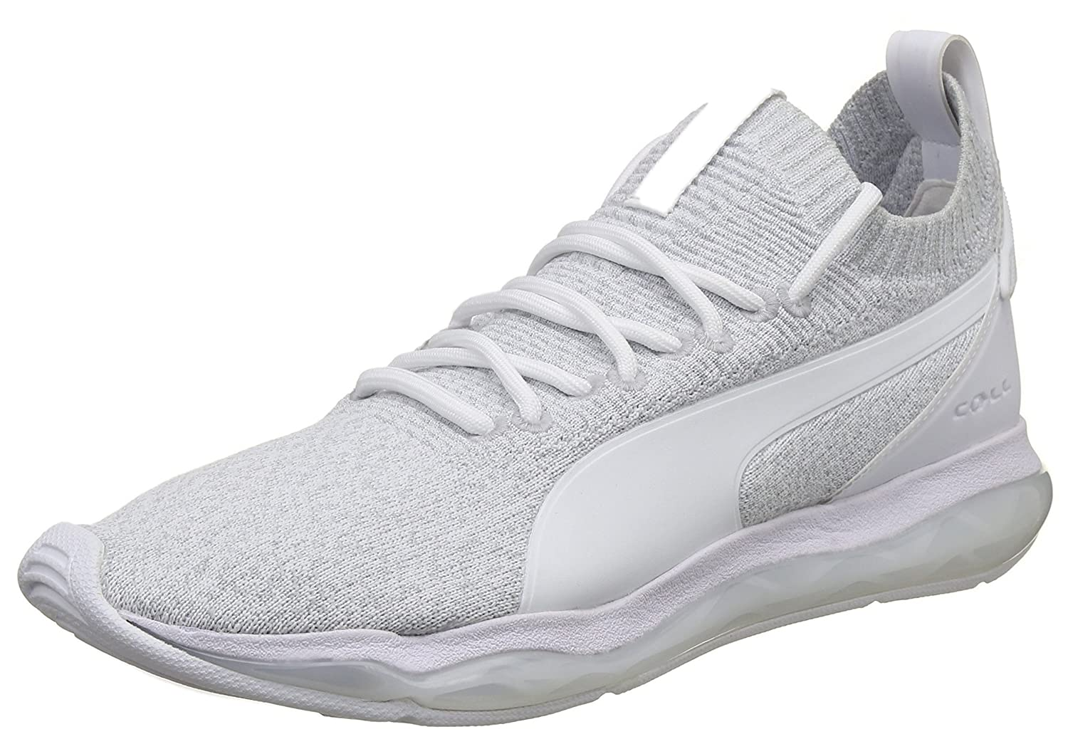 Puma Unisex s Cell Motion Evoknit Gray Violet White Sneakers-11 UK India  (46 EU) (36487401)  Buy Online at Low Prices in India - Amazon.in c234d4669