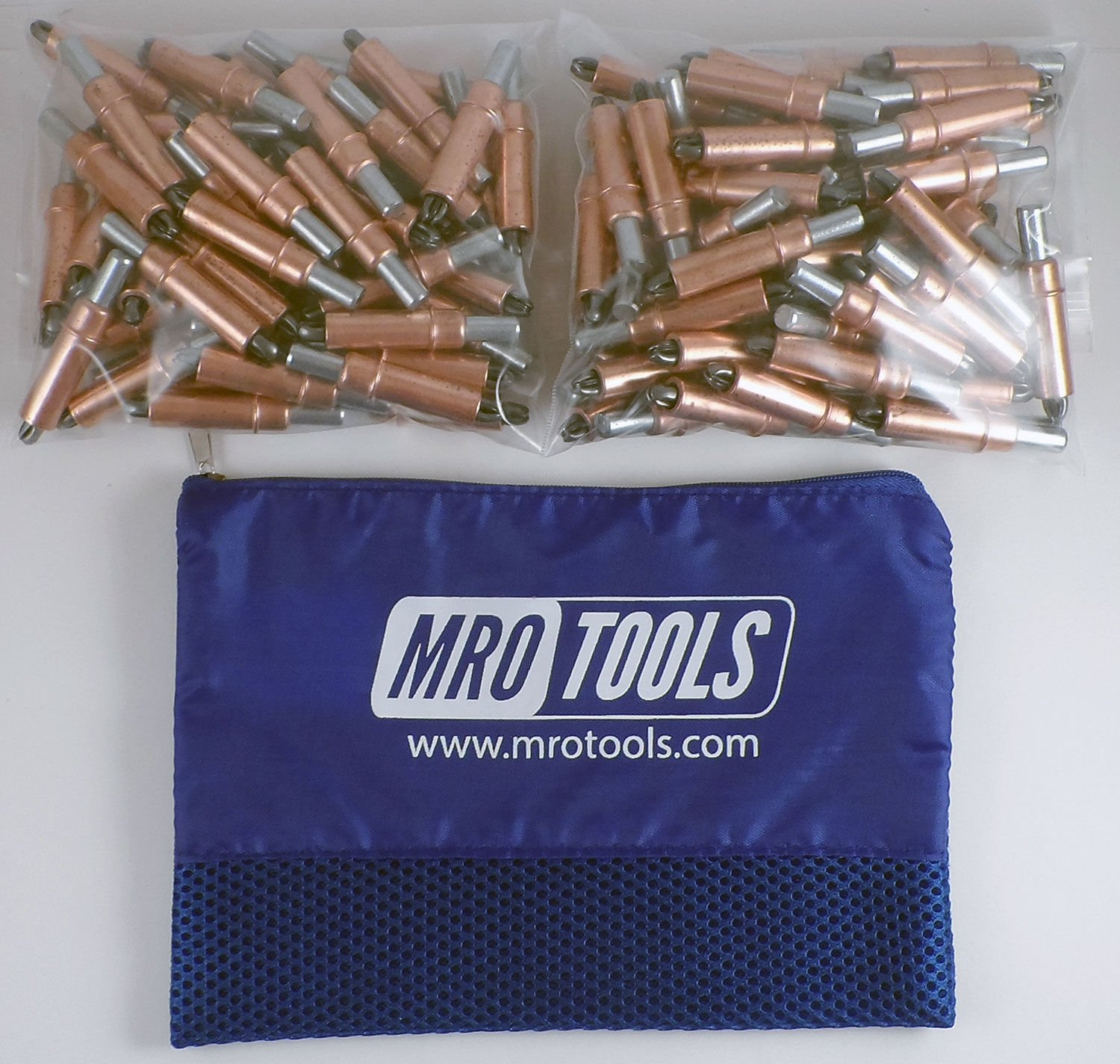 150 1/4 Cleco Sheet Metal Fasteners w/ Mesh Carry Bag (K2S150-1/4) by MRO Tools Cleco Fasteners