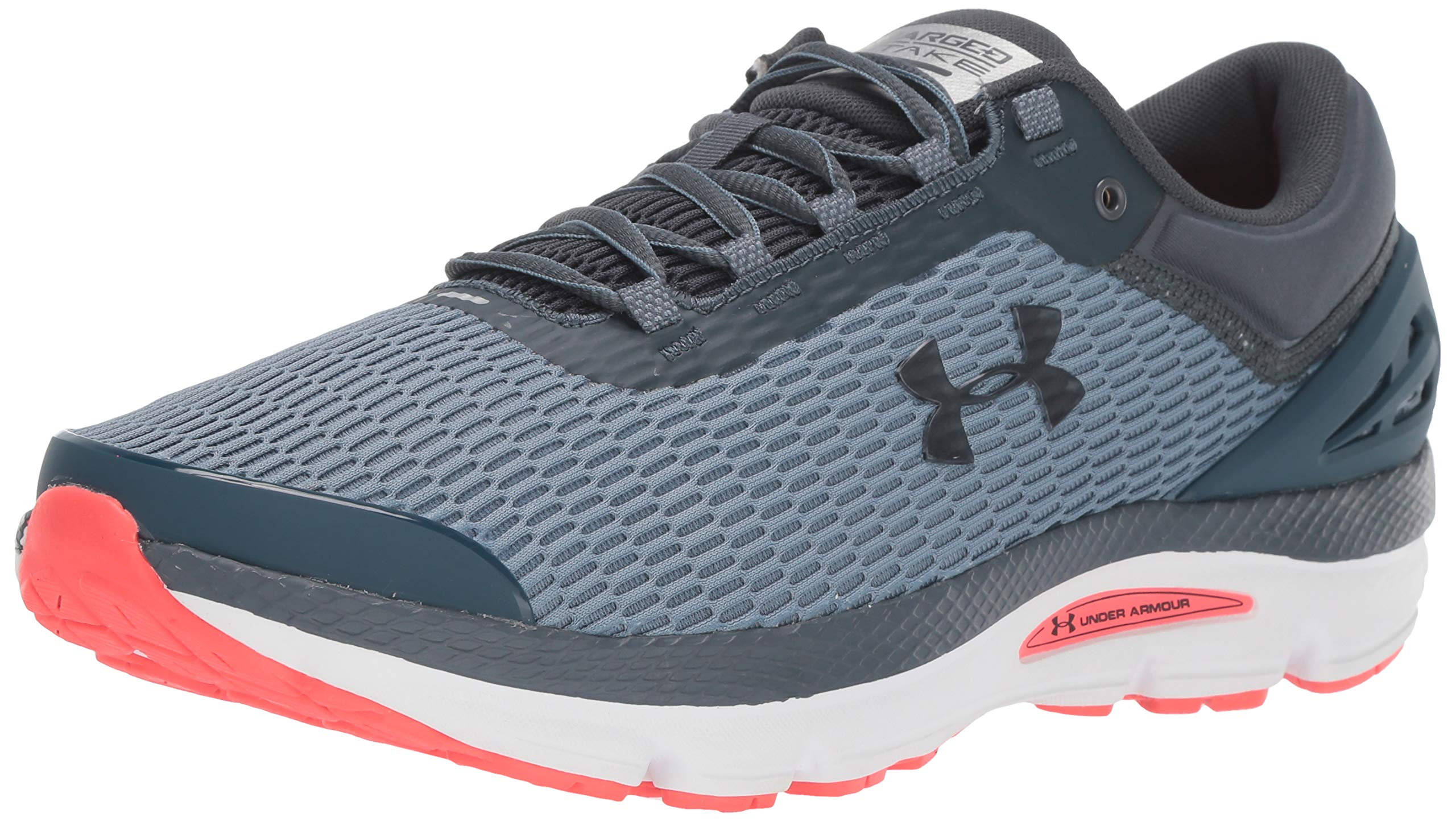Under Armour Men's Charged Intake 3 Running Shoe, Ash Gray (403)/White, 7 by Under Armour