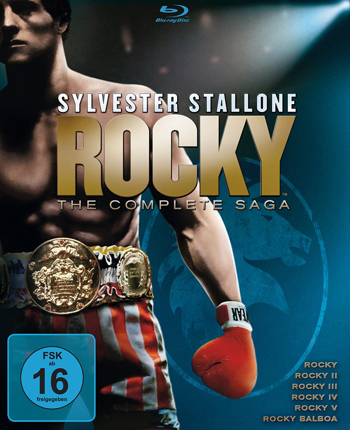 Rocky 1-6 - The Complete Saga [Alemania] [Blu-ray]: Amazon.es: Stallone, Sylvester, Stallone, Sylvester: Cine y Series TV