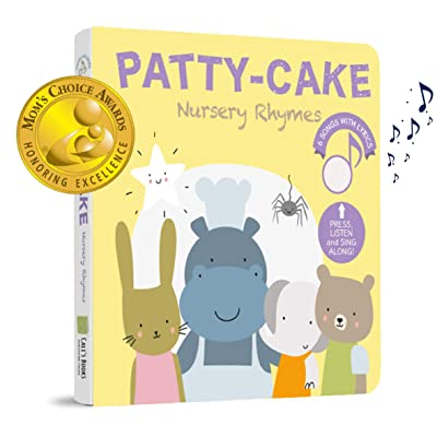 Patty Cake and Favorites Nursery Rhymes (Mom's Choice Award Winner) - Press, Listen and Sing Along! Sound Book - Best Interactive and Educational Gift for Baby, Toddler, 1- 4 Year Old Girl and Boy: Toys & Games