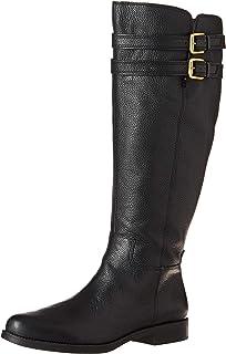b49af5ee9b8 Amazon.com   Franco Sarto Womens Henrietta Leather Almond Toe Knee ...