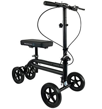 KneeRover Economy Knee Scooter Steerable Knee Walker Crutch Alternative
