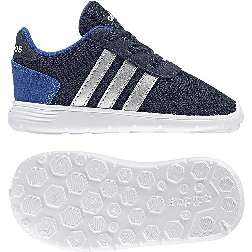 adidas Zapatillas Deportivas Lite Racer INF Maruni/Plamat/Azul, Deporte Unisex niño,