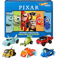 Hot Wheels Disney Pixar Bundle Vehicles, 6 Pack [Amazon Exclusive]