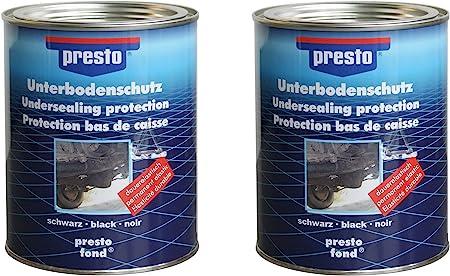 Presto Unterbodenschutz 2 Dosen Zu Je 1 3 Kg Bitumen Baumarkt