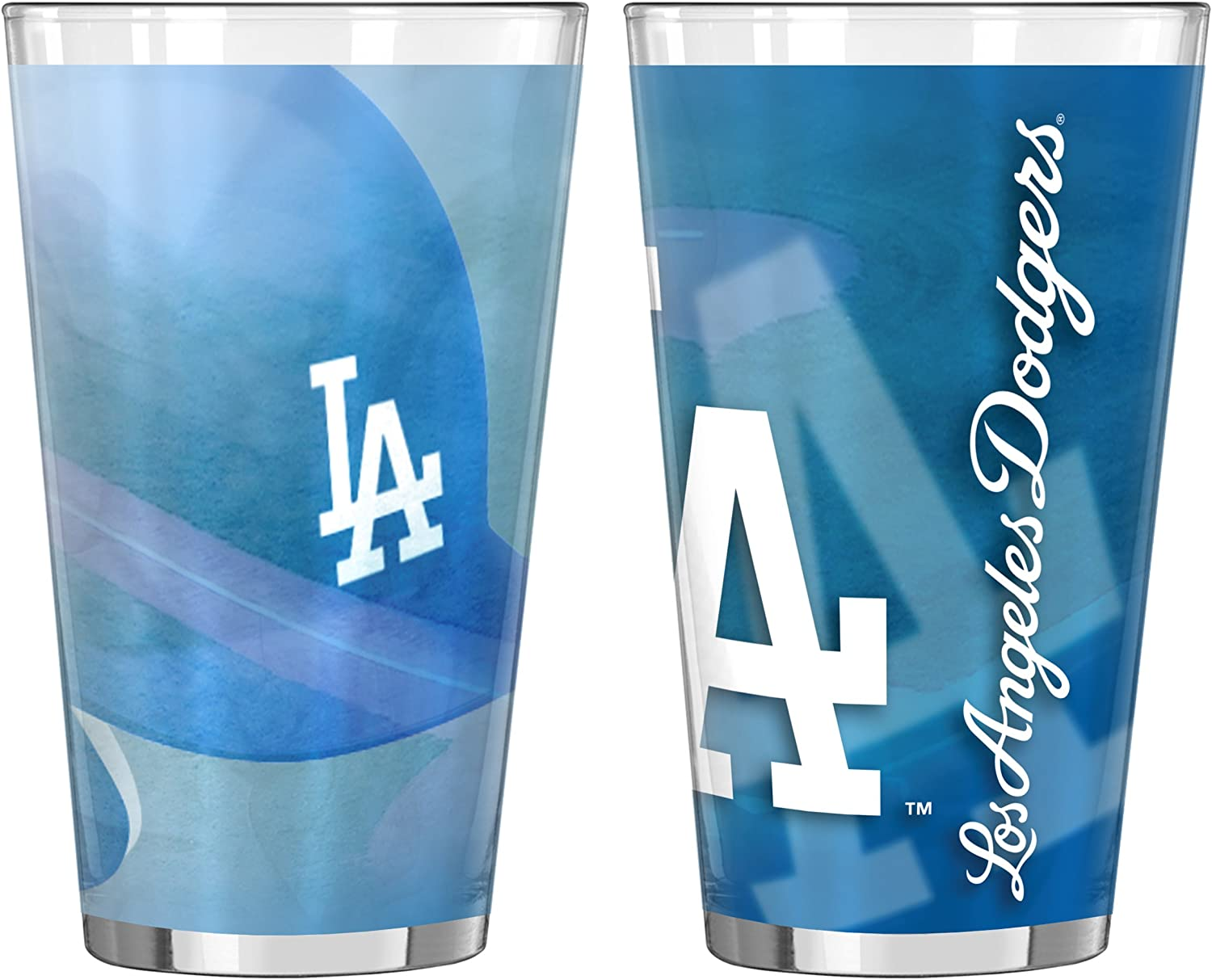 Boelter Brands MLB Unisex 16-Ounce 2-Pack Shadow Sublimated Pint