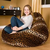 Style Crome Cheetah Pattern Bean Bags With Beans Filled Size-XXL