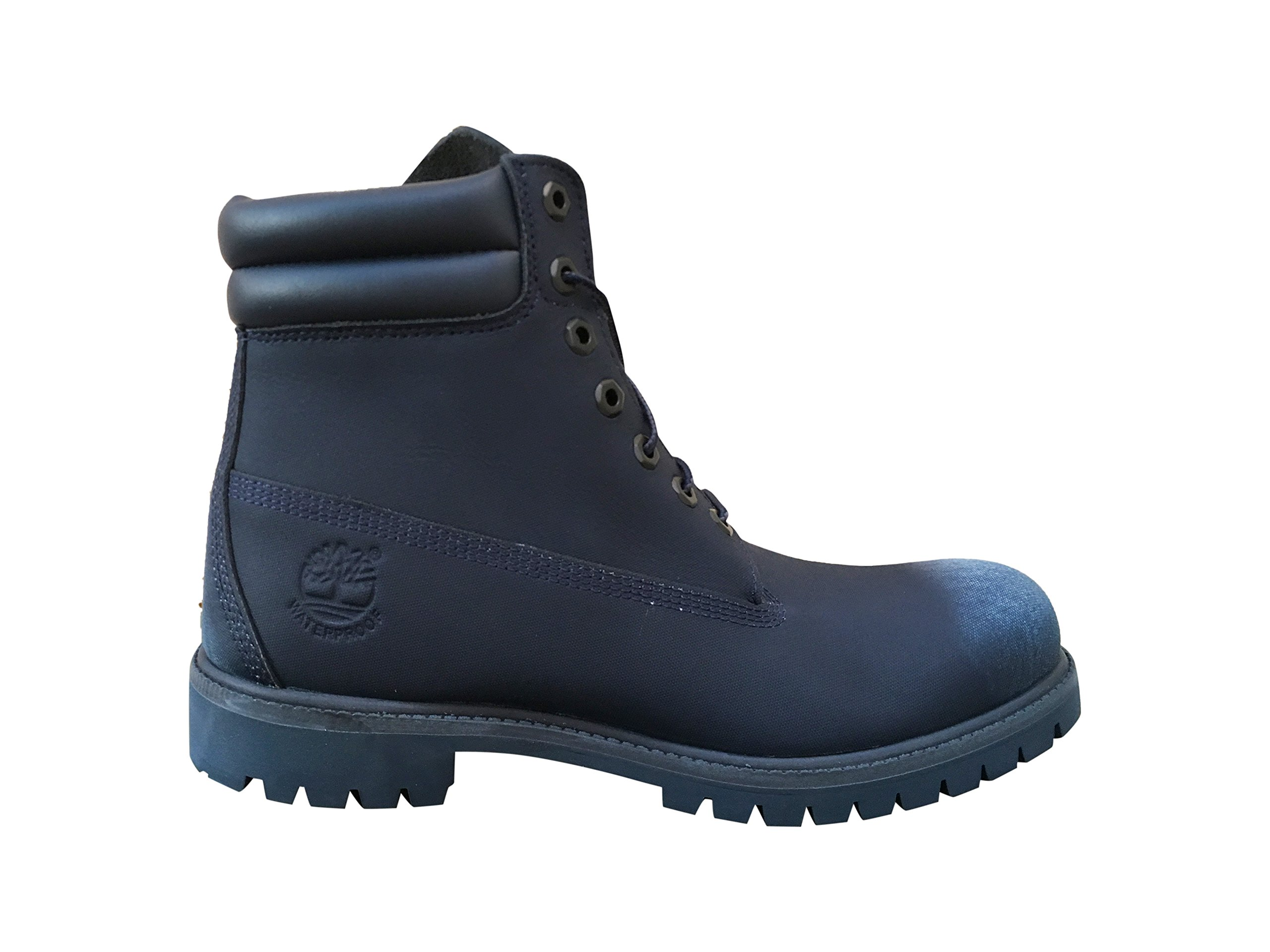 Timberland Men's 6'' Premium Waterproof Boot (8 D(M) US, Navy Tech Tough) by Timberland