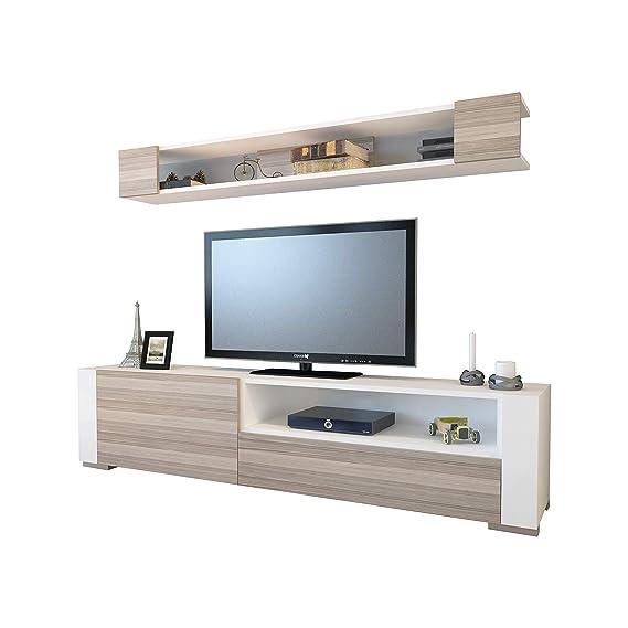 Amazon.com: Decorotika Arya - Mueble de TV de 71 pulgadas y ...