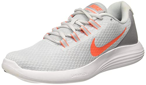 57d333c3d1bf5 Image Unavailable. Image not available for. Colour  Nike Men s Lunarconverge  Pure Platinum Running Shoes-10 ...