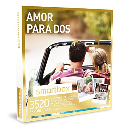 SMARTBOX - Caja Regalo - AMOR PARA DOS - 3520 románticas experiencias: escapadas, cenas