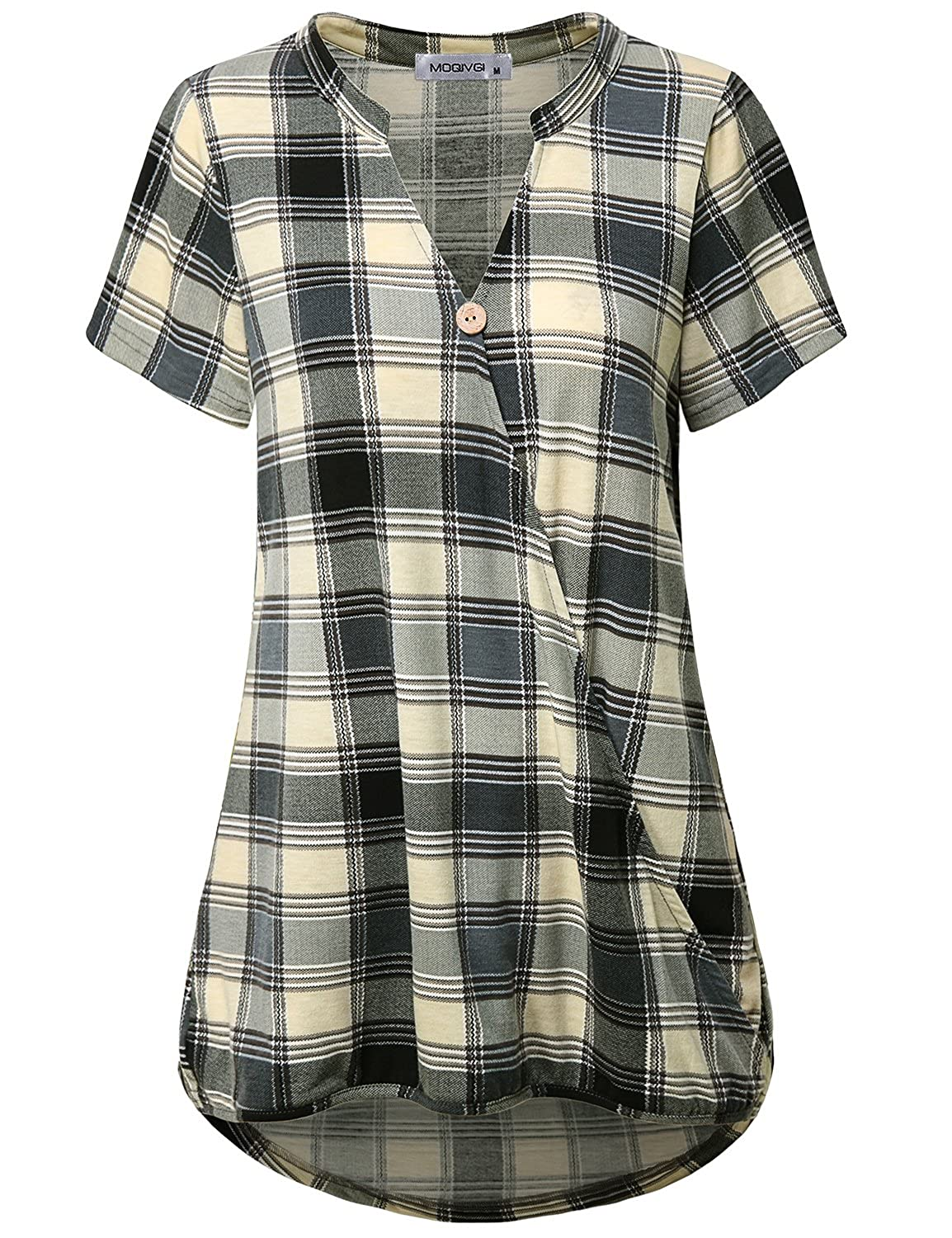 0a4363d5c26 (=^ ^=)Plaid Shirt--Classic Tartan always in fashion,easy to dress up or  dress down.Perfect for any occasion.