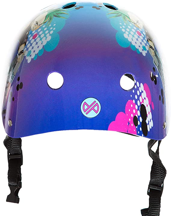 Boys and Girls Punisher Skateboards 11-Vent Multi-Sport Skateboard and BMX Helmet Assorted Styles Includes Extra Helmet Pads Youth Size Medium