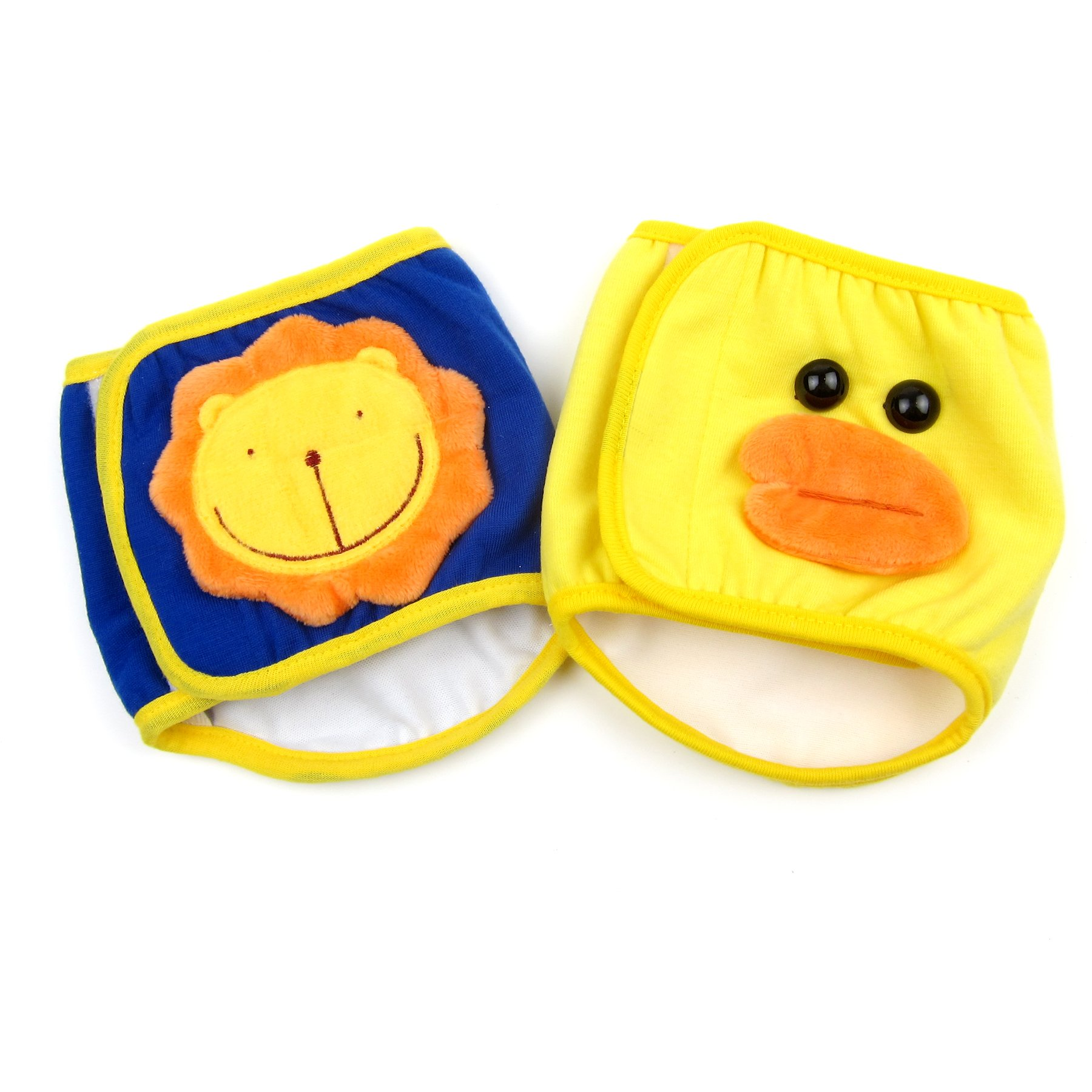 Alfie Pet by Petoga Couture - Rafael Belly Band 2-Piece Set (for Boy Dogs) - Color: Navy Yellow, Size: Large by Alfie (Image #4)