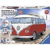 Ravesnburger - Furgoneta Volkswagen, color blanco / rojo (12516)