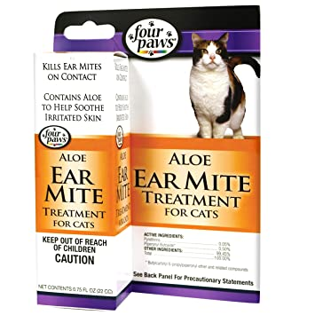 Buy Ear Mite Remedy For Cats Online At Low Prices In India Amazon In