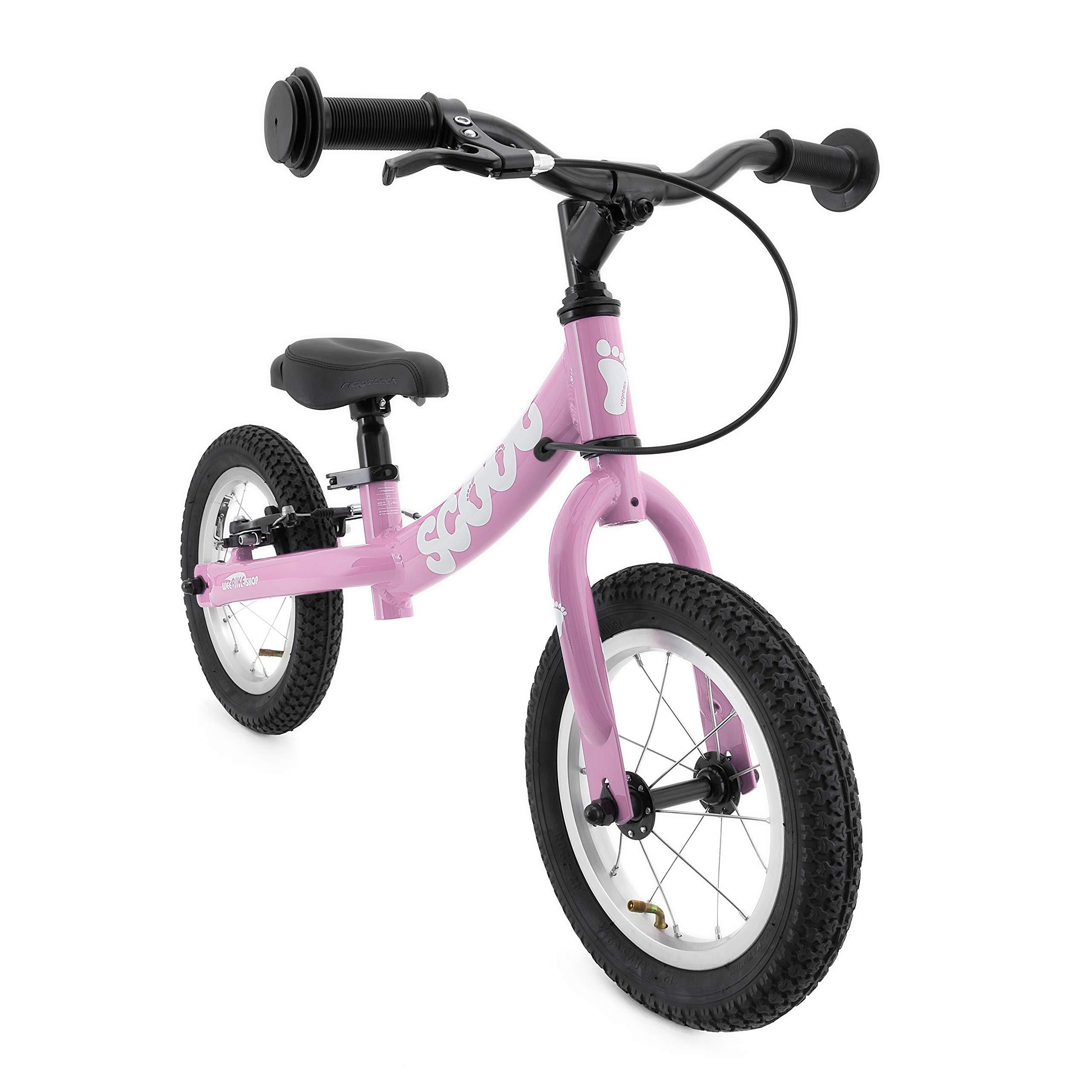 Ridgeback UK 2018 US Edition Scoot 12'' Balance Bike (Age 3-6) (Gloss Pink)