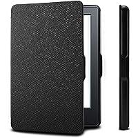 Capa para Kindle Básico da 8a geração - Rígida - Fecho Magnético - Hibernação - Várias Cores (preto)