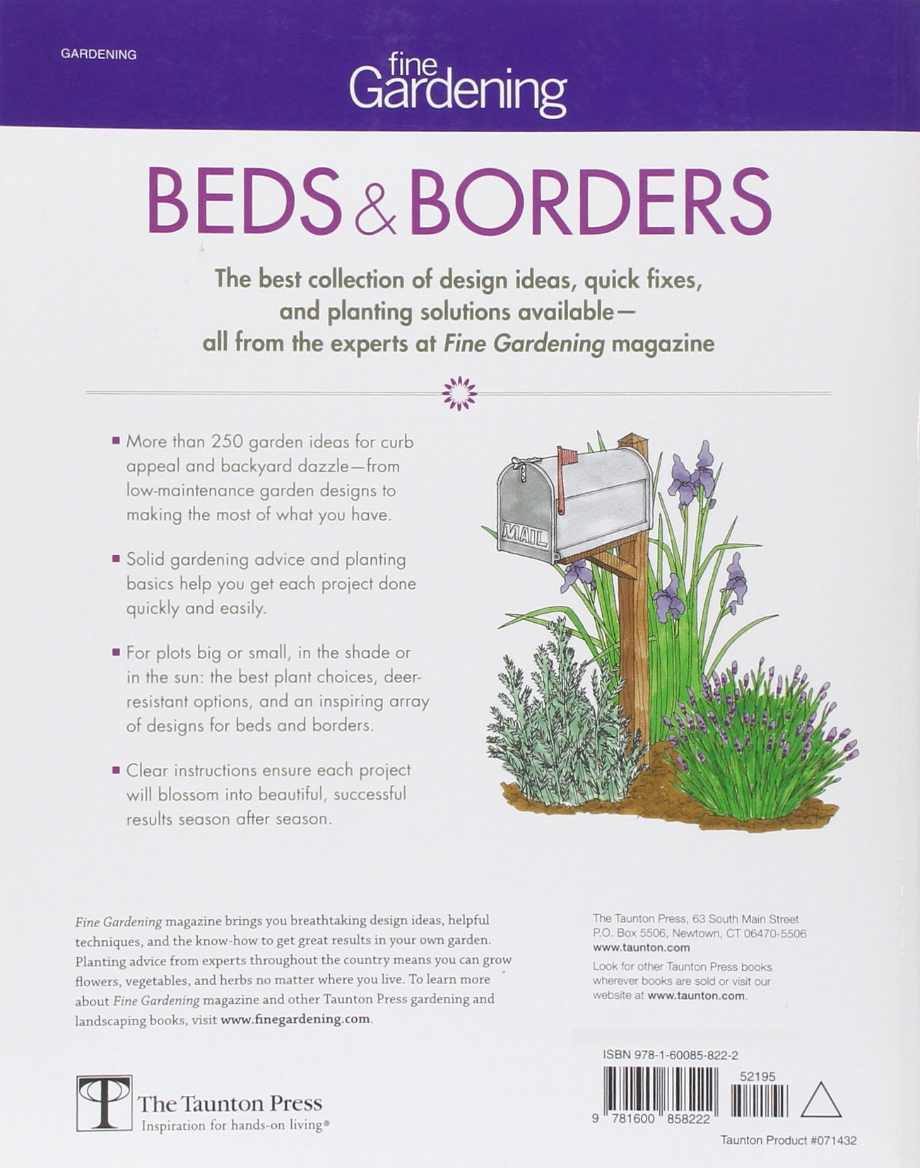 Fine Gardening Beds U0026 Borders: Design Ideas For Gardens Large And Small:  Editors Of Fine Gardening: 9781600858222: Amazon.com: Books