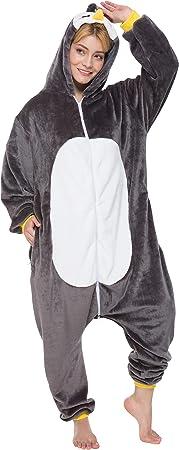 corimori- Pablo el Pingüino Pijamas Animal Traje de Una Pieza ...