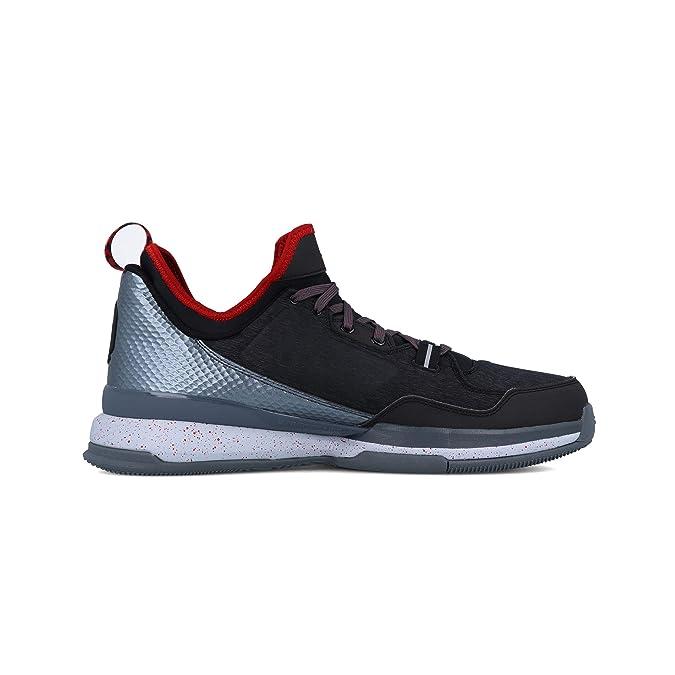 adidas D Lillard - Zapatillas para Hombre, Color Negro/Gris/Rojo ...