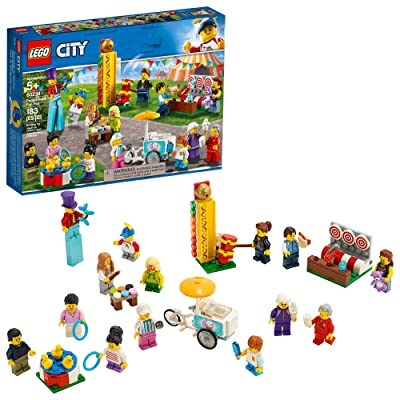 LEGO City People Pack – Fun Fair 60234 Building Kit (183 Pieces): Toys & Games