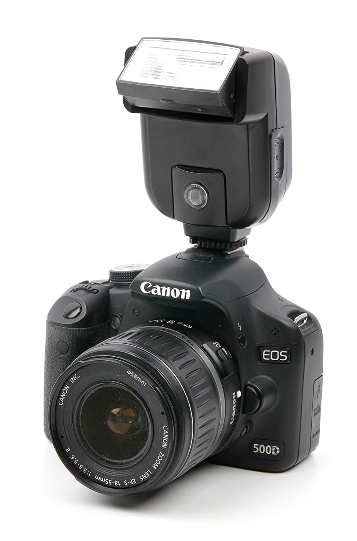 DURAGADGET Cómodo Flash para cámara Canon EOS 2000D / Rebel T7 ...