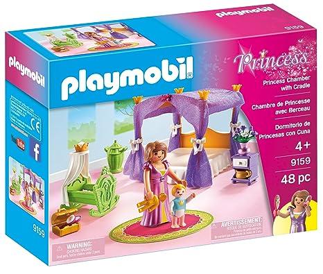 Amazon.com: Playmobil Princess cámara con cuna: Toys & Games