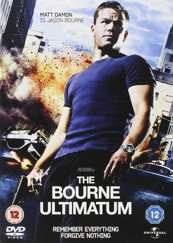 The Bourne Ultimatum Dvd 2007 Amazon Co Uk Matt Damon Paul Greengrass Matt Damon Dvd Blu Ray
