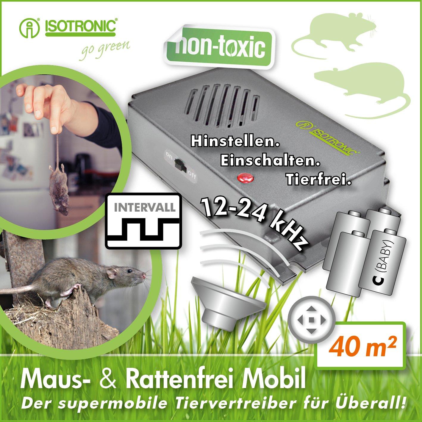 Isotronic Mauseabwehr Rattenabwehr Mit Ultraschall