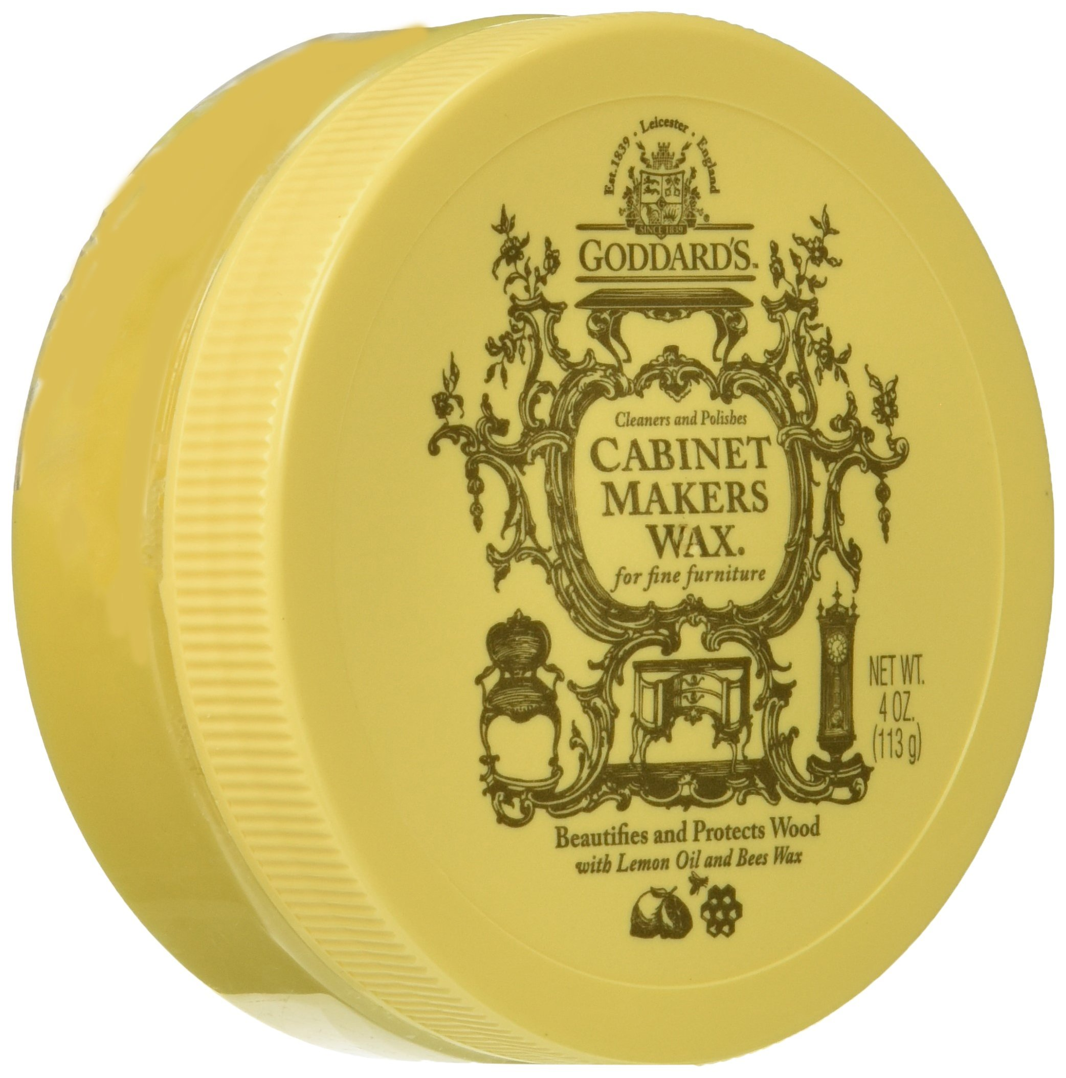 Goddards Cabinet Makers Paste Wax, 4 oz